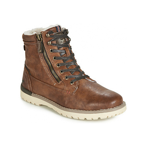 Mustang 4092616-303 men's Mid Boots in Brown