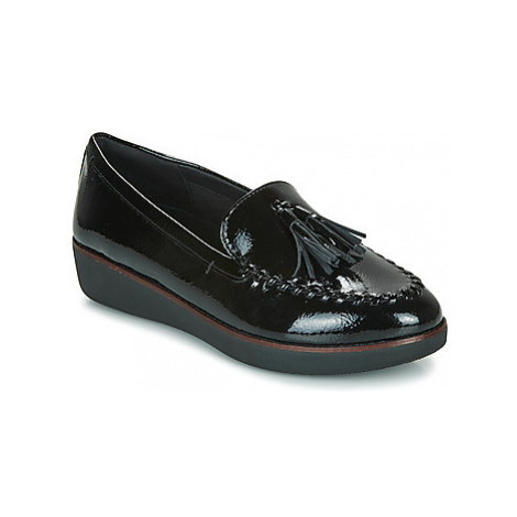 FitFlop PETRINA MOCASSIN women's Loafers / Casual Shoes in Black