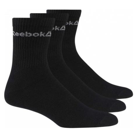 Reebok ACT CORE CREW SOCK 3P black - Unisex socks