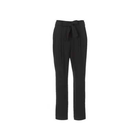 MICHAEL Michael Kors CRT SHAPE PLTD PANT women's Trousers in Black