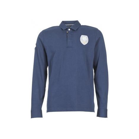 Serge Blanco ECUSSON COQ men's Polo shirt in Blue