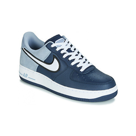Nike AIR FORCE 1 '07 LV8 1 men's Shoes (Trainers) in Blue