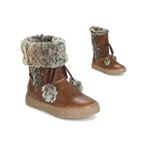 GBB NOUSTIK girls's Children's High Boots in Brown