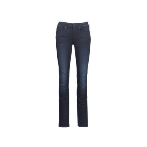 G-Star Raw MIDGE MID STRAIGHT women's Jeans in Blue