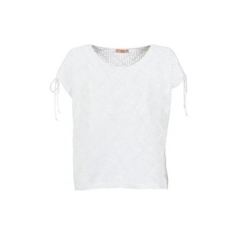 Moony Mood EDDA women's Blouse in White