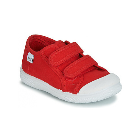 Citrouille et Compagnie JODIPADE girls's Children's Shoes (Trainers) in Red