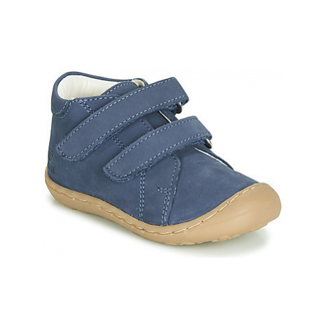 GBB MAGAZA boys's Children's Shoes (High-top Trainers) in Blue