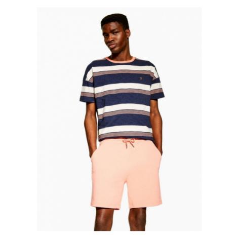 Mens Orange Farah Peach 'Shalden' Shorts*, ORANGE