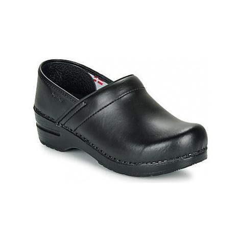 Sanita PROF women's Clogs (Shoes) in Black