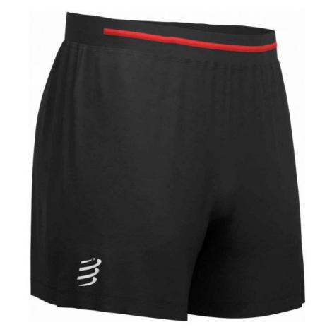 Compressport PERFORMANCE SHORT black - Men's running shorts