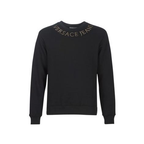 Versace Jeans Couture UUP302 STUDS 11 men's Sweatshirt in Black