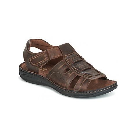 Casual Attitude GEFREY men's Sandals in Brown