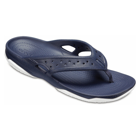 flip flops Crocs Swiftwater Deck Flip - Navy/White