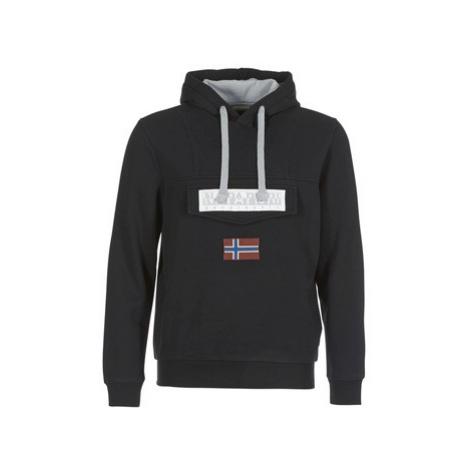 Napapijri BURGEE men's Sweatshirt in Black