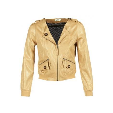 Molly Bracken BRILOP women's Jacket in Yellow