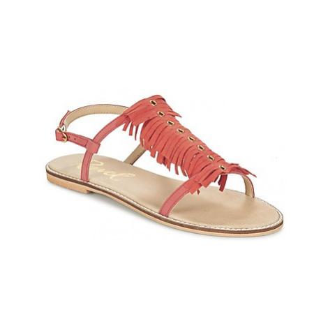Ravel LEXINGTON women's Sandals in Orange