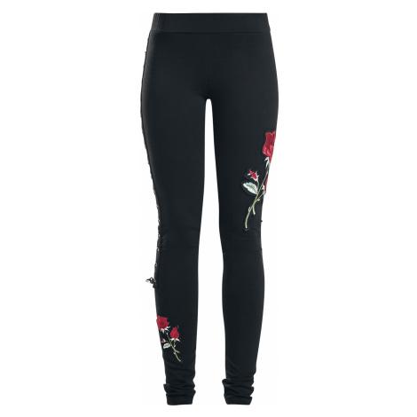 Vixxsin - Rose Corset Legging - Leggings - black