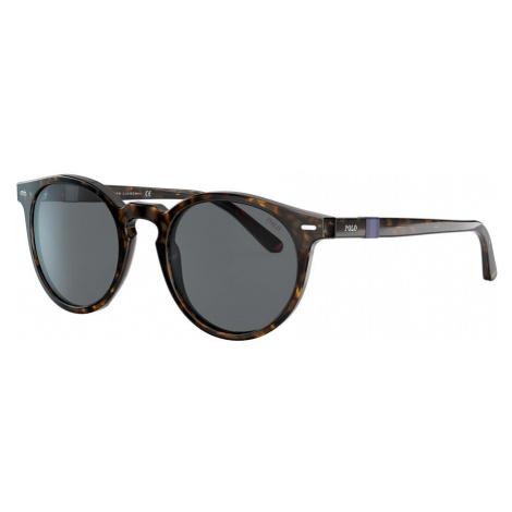 Polo Ralph Lauren Man PH4151 - Frame color: Black, Lens color: Blue, Size FA-LS/145