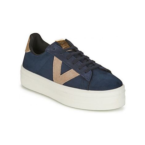Victoria BARCELONA DEPORTIVO women's Shoes (Trainers) in Blue