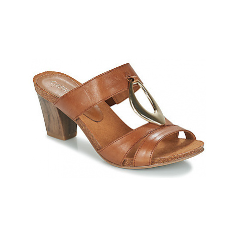 Caprice VOLTALI women's Mules / Casual Shoes in Brown