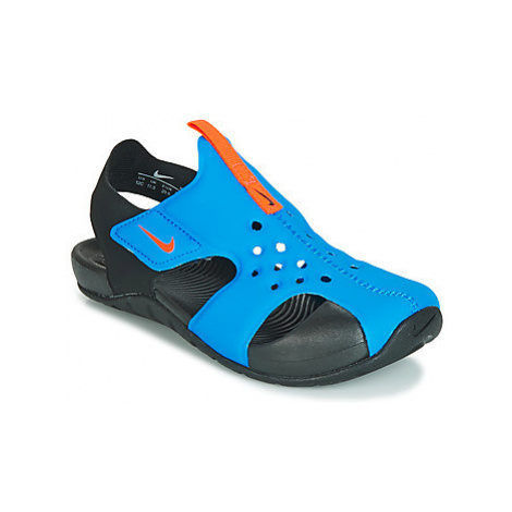 Nike SUNRAY PROTECT 2 PS girls's Children's Sandals in Black