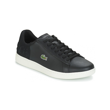 Lacoste CARNABY EVO 418 1 men's Shoes (Trainers) in Black