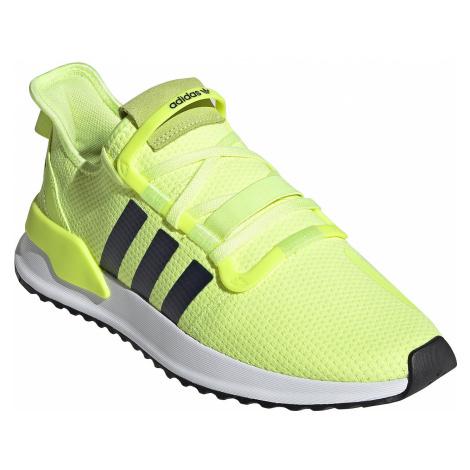 shoes adidas Originals U Path Run - Hi-Res Yellow/Collegiate Navy/White - men´s