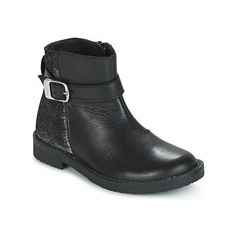 Aster ELOA girls's Children's Mid Boots in Black