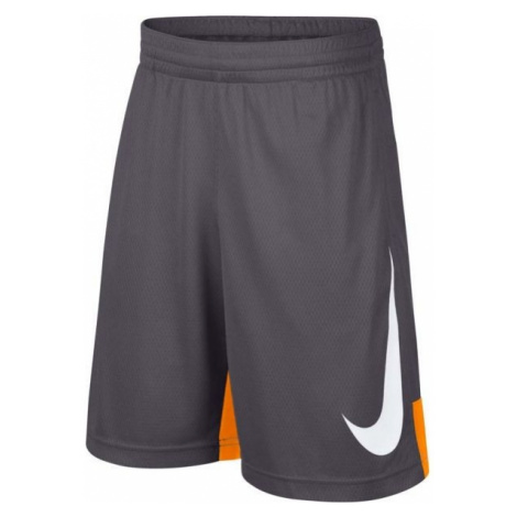 Nike B M NP DRY SHORT HBR gray - Boys' sports shorts
