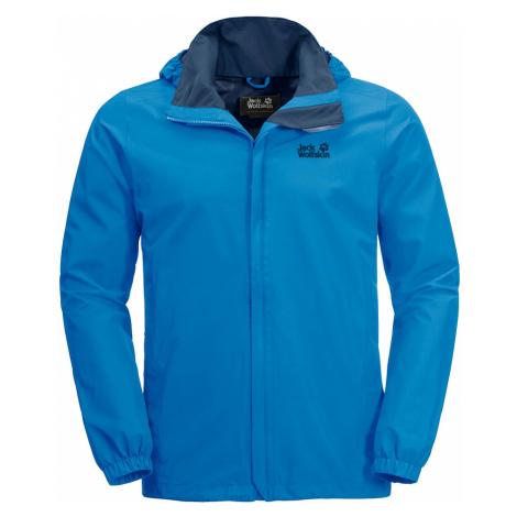 Jack Wolfskin Mens Stormy Point Jacket-Brilliant Blue-2XL
