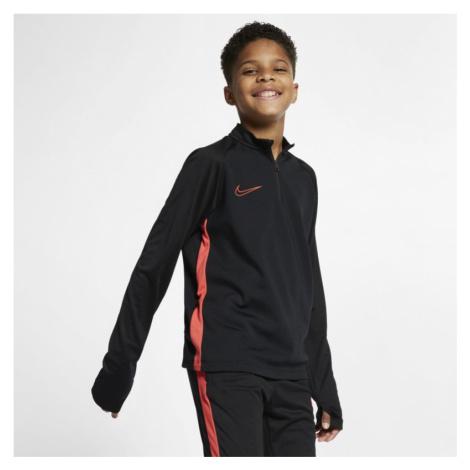 Nike Dri-FIT Academy Older Kids' Football Drill Top - Black
