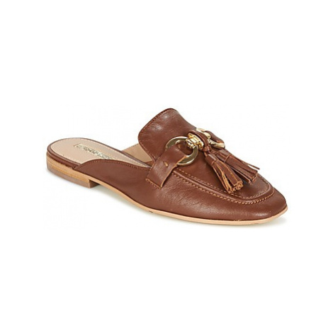 Buffalo GARLI women's Mules / Casual Shoes in Brown