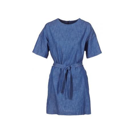 G-Star Raw DELINE SHIRT DRESS S/S women's Dress in Blue