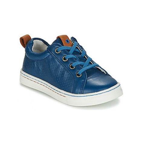 Babybotte KAIN boys's Children's Shoes (Trainers) in Blue