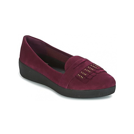 FitFlop LOAFER women's Shoes (Pumps / Ballerinas) in Purple