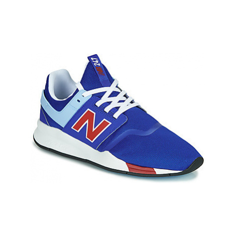 New Balance 247 men's Shoes (Trainers) in Blue