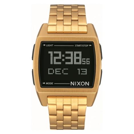 Mens Nixon The Base Alarm Chronograph Watch A1107-502