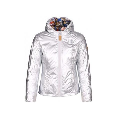 Grey women's sports winter jackets