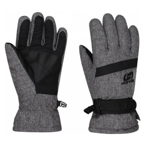 Hannah LEDDA gray - Kids' ski gloves