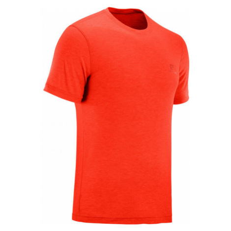 Salomon EXPLORE SS TEE M orange - Men's T-shirt