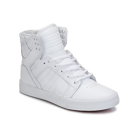 Supra SKYTOP CLASSIC men's Shoes (High-top Trainers) in White