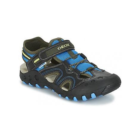 Geox J S.KYLE A boys's Children's Sandals in Black