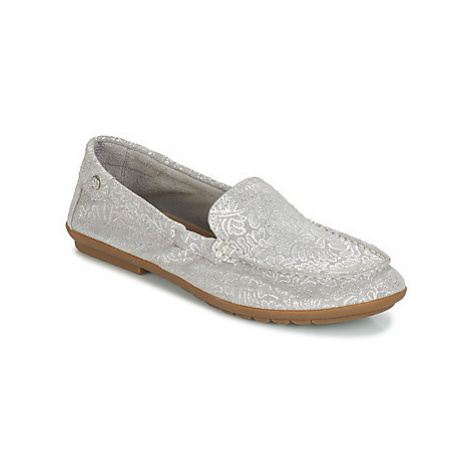 Hush puppies ALLY women's Loafers / Casual Shoes in Silver