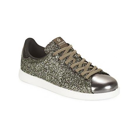 Victoria DEPORTIVO BASKET GLITTER women's Shoes (Trainers) in Kaki
