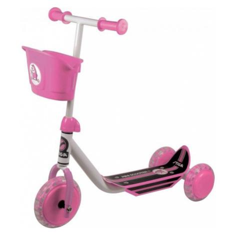 Stiga MINI KID 3W pink - Children's kick scooter