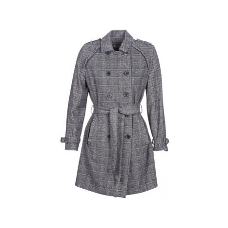 Naf Naf ABITAILORING women's Trench Coat in Grey