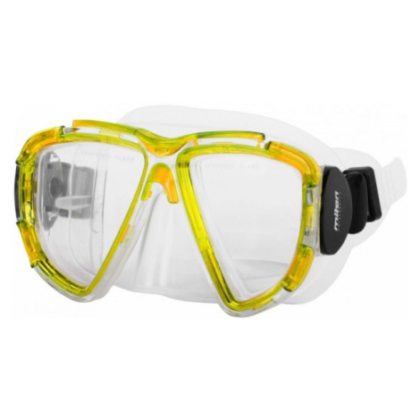 Miton CETO yellow - Diving mask