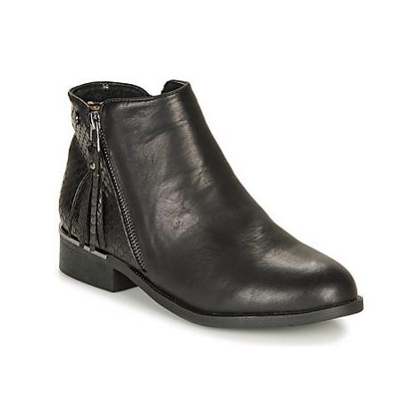 Xti TANIA women's Mid Boots in Black