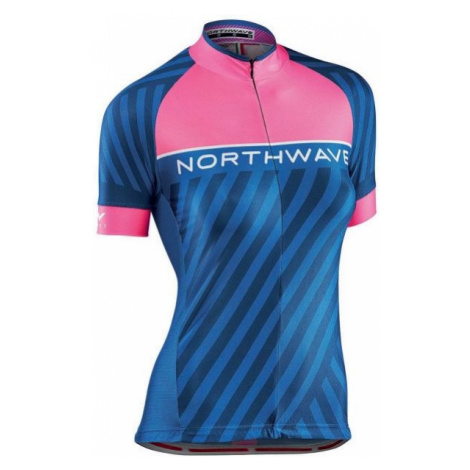 Northwave LOGO W 3 JERSEY pink - Cycling jersey North Wave