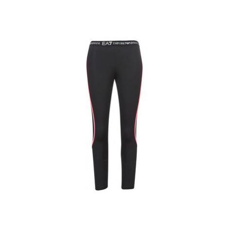 Emporio Armani EA7 TRAIN CORE TECH women's Tights in Black